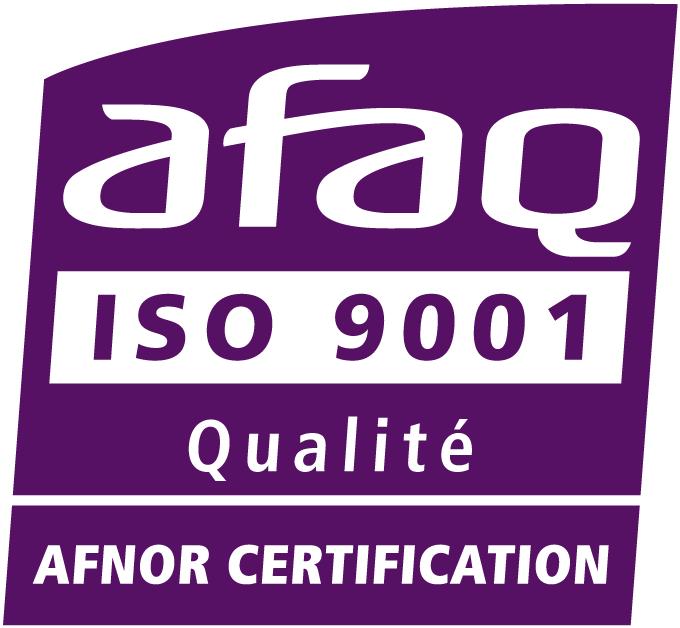 Logo AFNOR ISO 9001